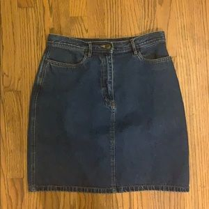 Vintage LL Bean denim skirt